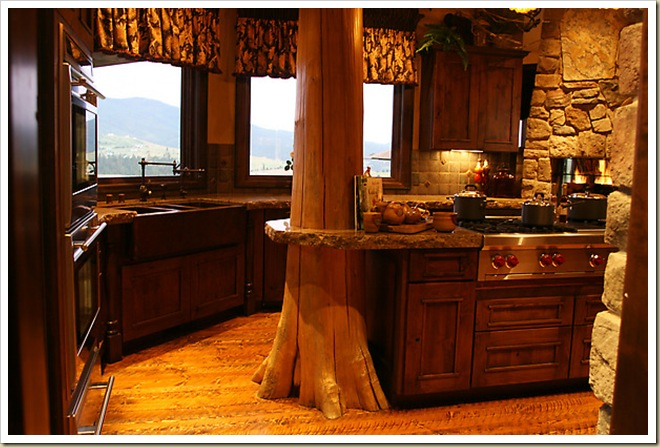 Rustic Wood Kitchen Table Plans
