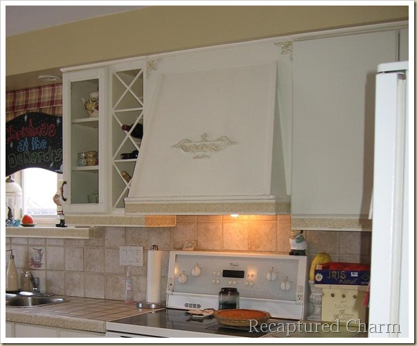 Remodelaholic How To Build A Range Hood Kitchen Remodel