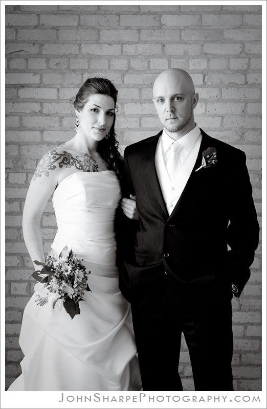 Minneapolis Bride and Groom portrait