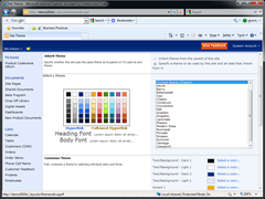 Themes in SharePoint 2010 v SharePoint 2007 « Glyn Clough's