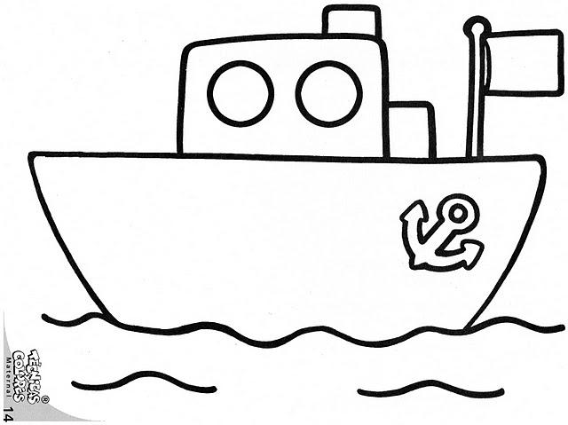 Dibujos con circulos y cuadrados - Imagenes de barcos infantiles ...