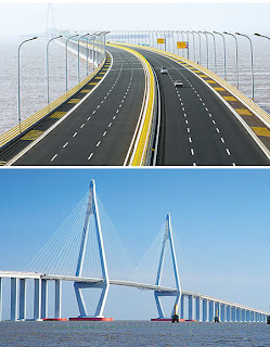Hangzhou Bay Bridge (Cina): World's Longest Trans-Oceanic Bridge