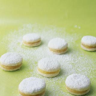 Petite Lemon Curd Cookies