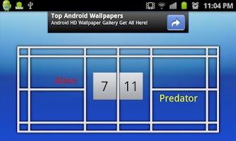 Screenshot of Badminton Scoreboard