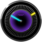 NEXT NEON Laser Clock Widget