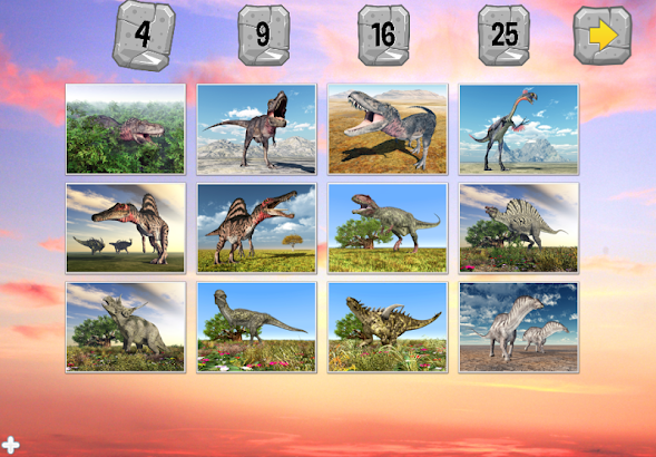 Dinosaur Puzzle screenshot