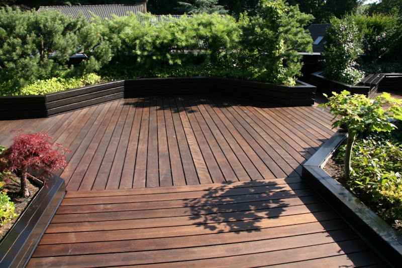 buche thermoholz terrassendiele 25x130mm pro good wood ebay. Black Bedroom Furniture Sets. Home Design Ideas