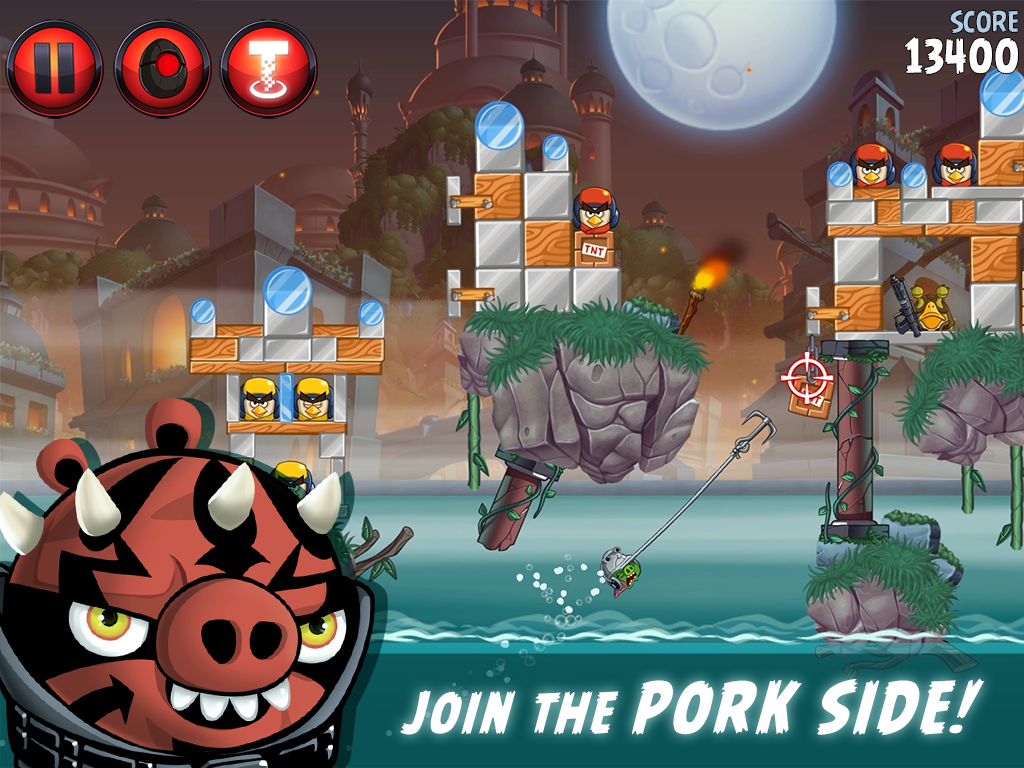 Angry Birds Star Wars II - screenshot