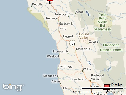 TnT (Terry & Teri) Travels: The Avenue of Giants, Humboldt ... on