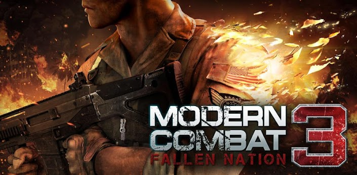 Modern Combat 3: Fallen Nation v1.1.2 (Offline/Non Root) Android Game