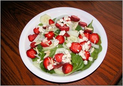 Strawberry Spinich Salad