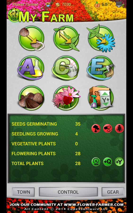 Flower Farmer- screenshot
