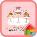 Angel cake dodol theme icon
