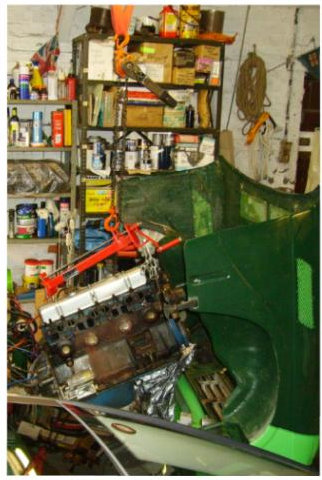 Best Method Of Engine Removal Replacement - Triumph Herald