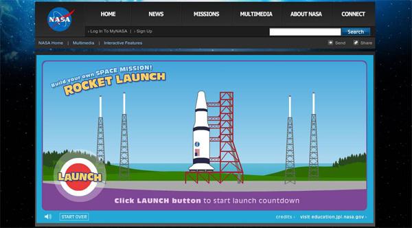 сайт НАСА