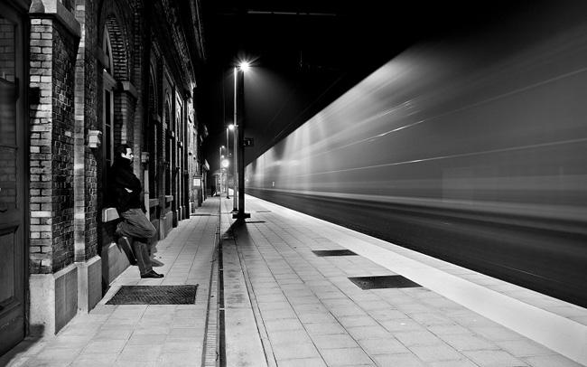 Красивые черно-белые фотографии.
