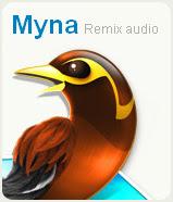 онлайн аудио редактор Myna