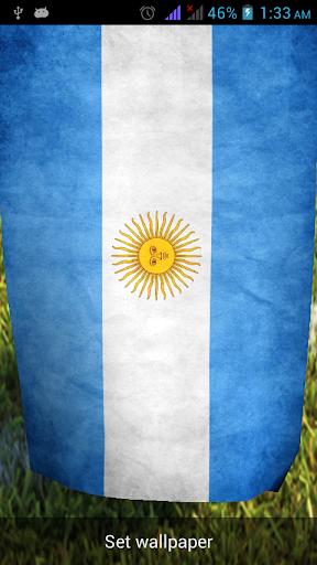 Argentina 3d LiveWallpaper FWC