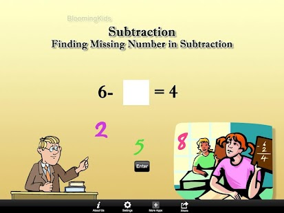 Finding Number in Subtraction- screenshot thumbnail