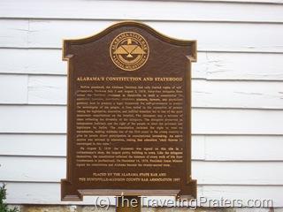 Historical Marker of Constitution Village