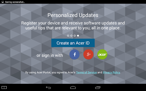 Acer Portal - screenshot thumbnail