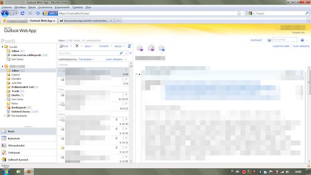 Aalto Webmail