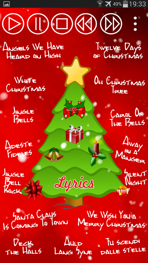 Lyrics To Oh Christmas Tree