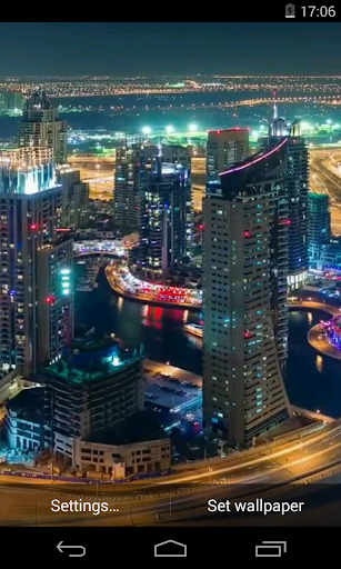 Dubai Video Live Wallpaper