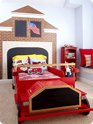 fire house headboard