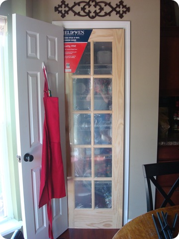 new pantry door