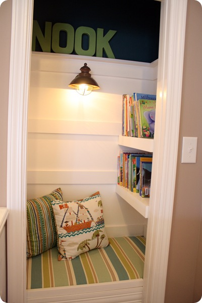 How To Turn A Closet Into A Cozy Book Nook From Thrifty Decor Chick Beauteous Convert Closet To Bedroom Set