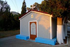 Kapelle kurz vor der Baustelle
