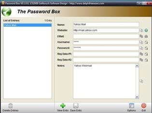 The Password Box