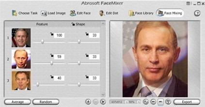 Synthetic Face Maker Fanta Face Mixer