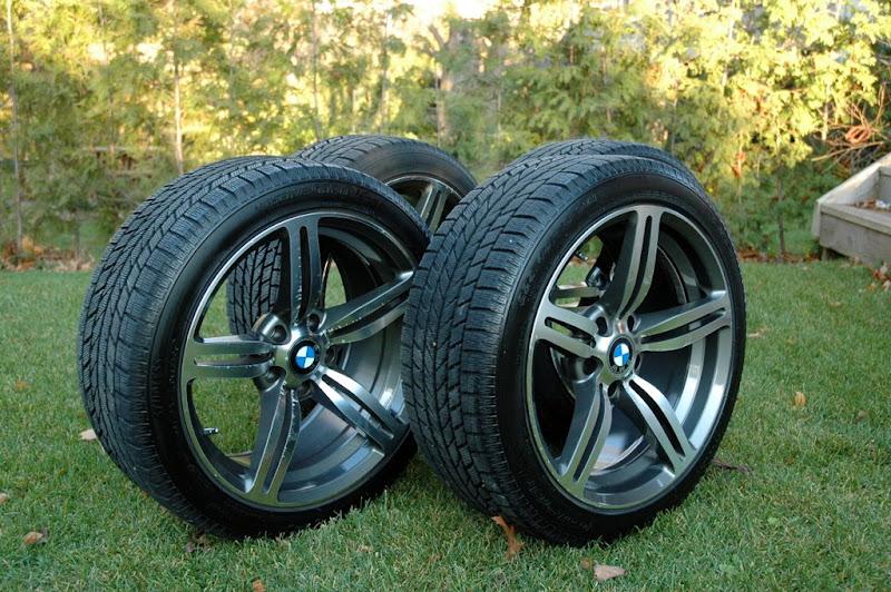 Used Tires Oshawa >> FS: M6 Replica 18x8.5 rims w/ Toyo snow tires 225/45R18 ...