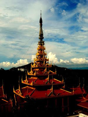 Throne Hall - Mandalay Royal Palace