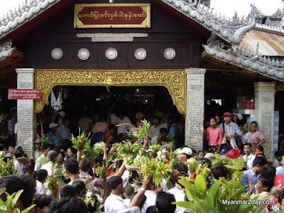 News Start Of Taung Pyone Spirit Festival Myanmar Today
