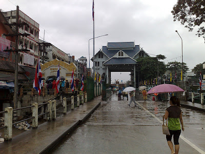 Tachileik Maesai border immigration checkpoint
