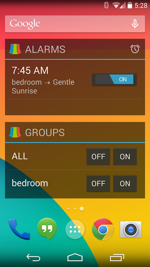 LampShade.io for Philips Hue - screenshot