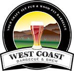Logo for West Coast Barbecue & Brew