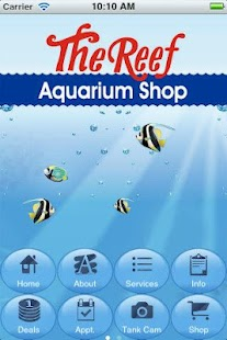The Reef Aquarium Shop - screenshot thumbnail