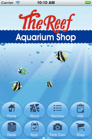 The Reef Aquarium Shop - screenshot