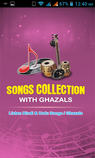 Songs Collection with Ghazals