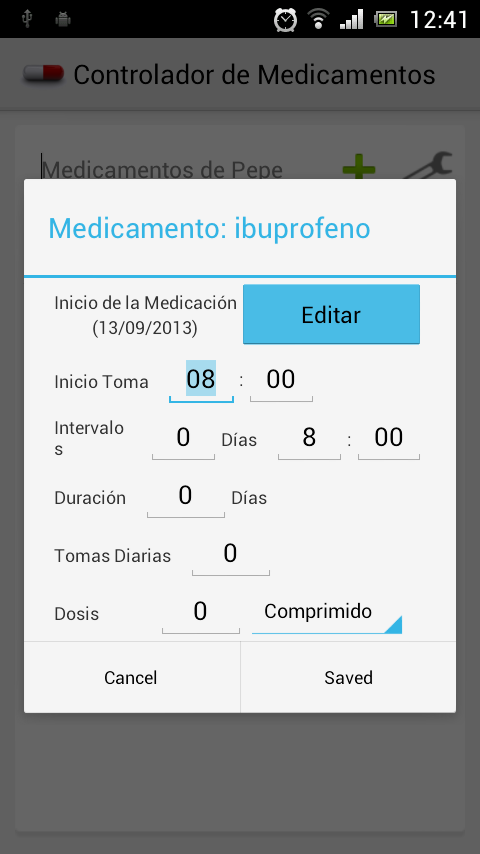 Medicament Controlled - screenshot