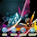 Rocker Guitar [SQTheme] ADW logo