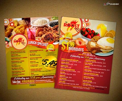 40 ejemplos de cartas de menu para restaurantes for Disenos de menus para restaurantes