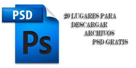 20 lugares para descargar archivos psd gratis