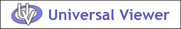 Universal Viewer Logo
