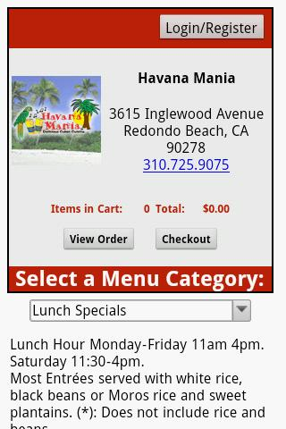 Havana Mania: Redondo Beach CA - screenshot