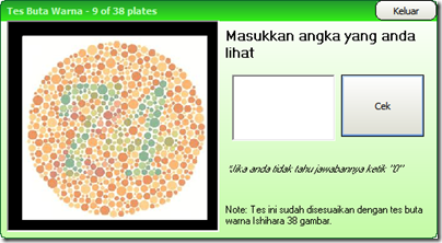 colorblind test